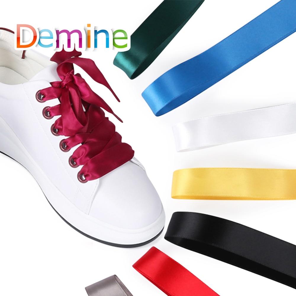 Demine 120cm Chiffon Shoelace for
