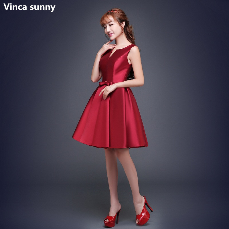 Online Get Cheap Short Prom Dresses Burgundy and Black -Aliexpress ...