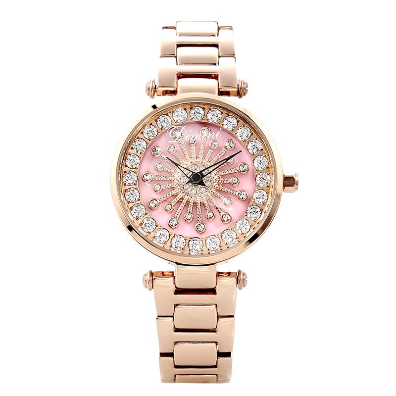 2018 New Rotation Women Watches Fashion Ladies Rhinestone Casual Watch Women Elegant Luxury Quartz Watch Waterproof Clocks Hour biologicols био уксус яблочный 500 мл