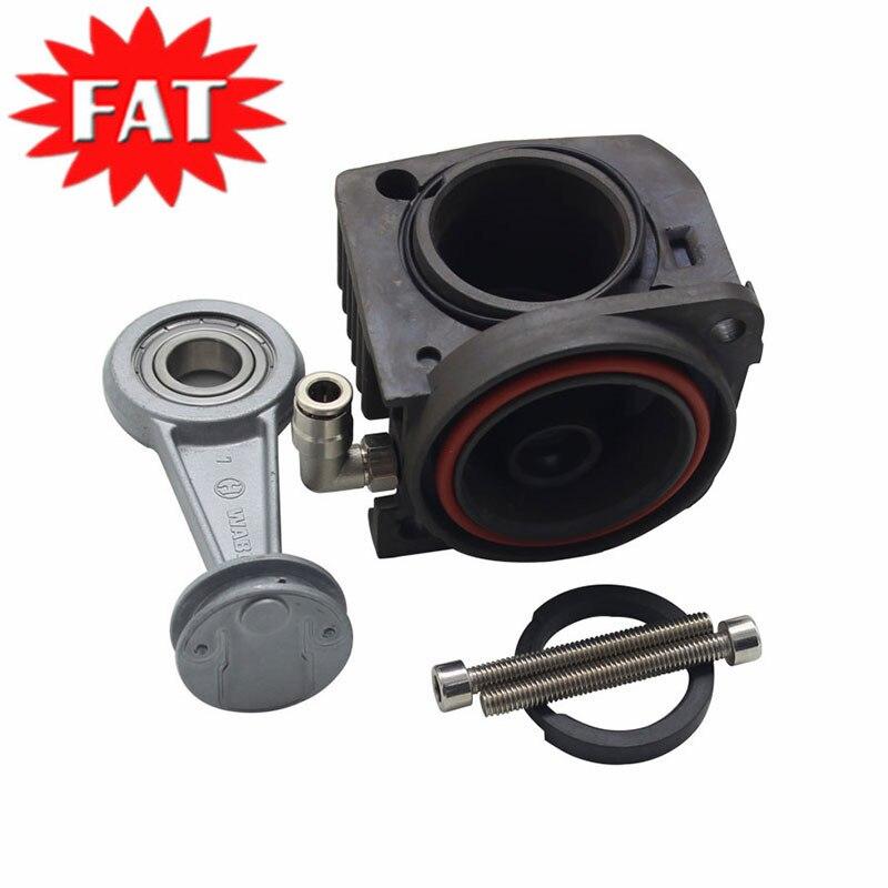 Compresseur d'air pompe cylindre tige de Piston segment de Piston vis de soupape d'air pour Volkswagen Touareg Porsche Cayenne 7L0698007D 7L8616006D