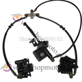 ATV Brake Lever 50 70 90 110 cc one front lever with two brake caliper hydraulic brake parts