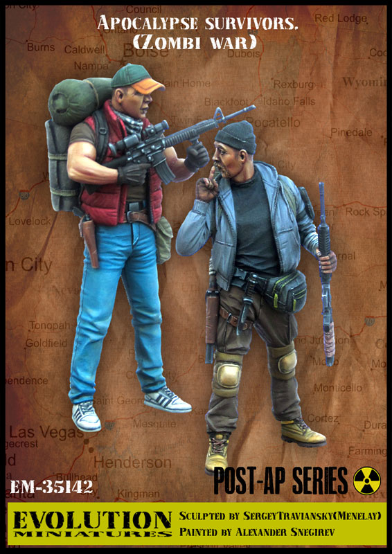 Unpainted-Kit Apocalypse Zombi-War Unassembled Soldier Resin Model Military-Theme And