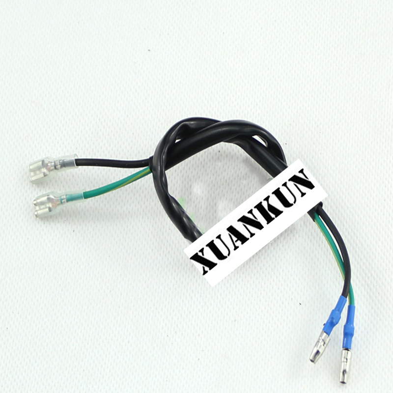 XUANKUN motorcycle scooter brake switch wire braking switch braking power switch connecting wire fittings