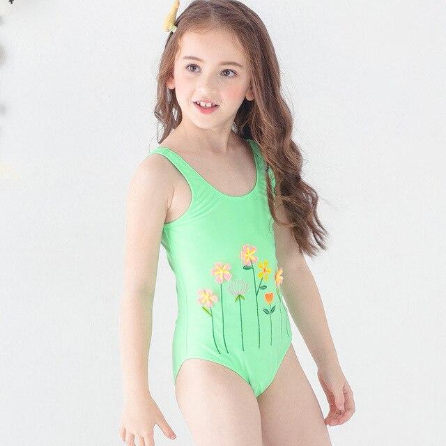 68a2582aa1647 Swimwear Children Girls One-piece Swimsuit Swimwear Kids Swimming Bikinis  Set Swimwear 2019 Child Tankini Princess Swimsuit Kids