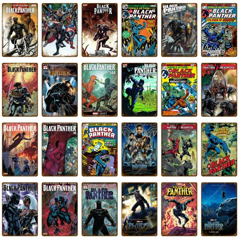 Costom Poster Black Panther Marvel Superhero Movie 12x18 27x40 Art Silk