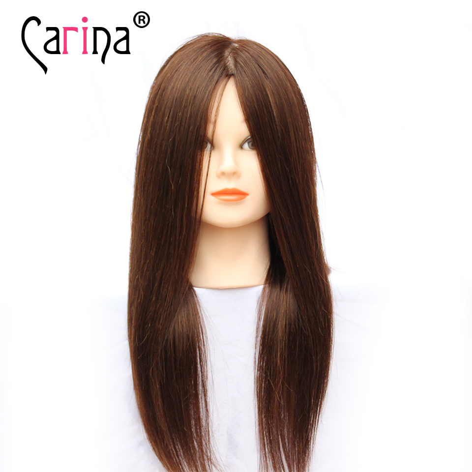 Hot Sale Hairdresser Practice Mannequin Heads Dummy Head Hair Styling Long Make Up Training Free Shipping