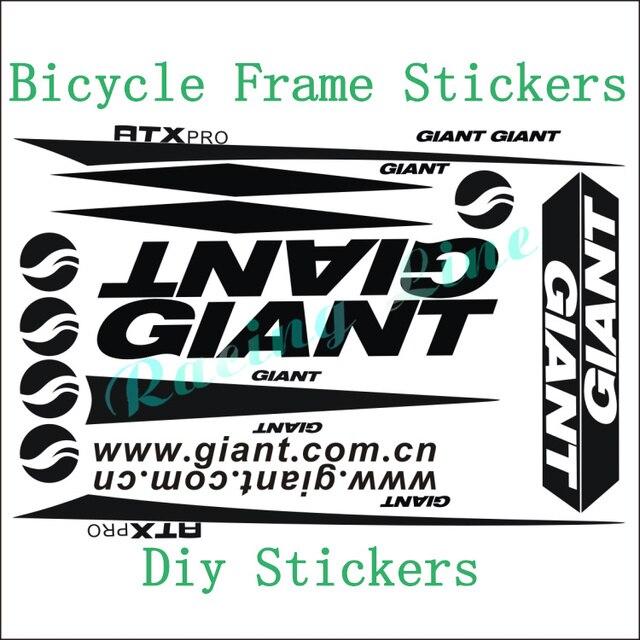 Giant ATX PRO de la motocicleta pegatinas marco de la bicicleta ...