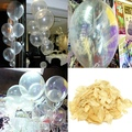 Wholesale Popular Fashion Clear 12 Inch Latex Pearl Transparent Balloons Birthday Wedding Party Home Decor Children Toy Favorite