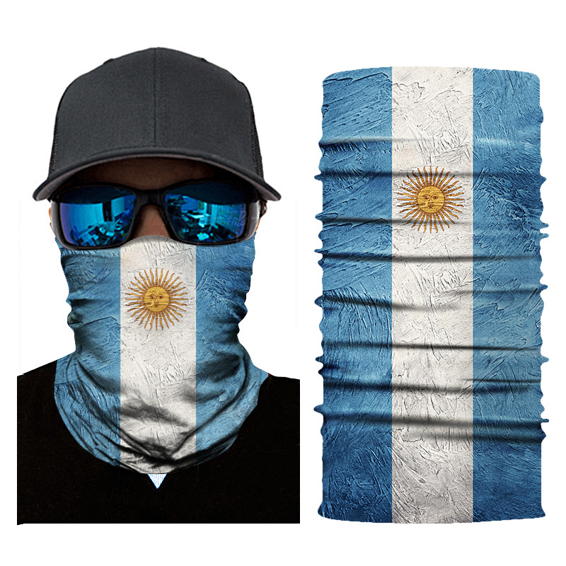 Image 5 - Hiking Scarf Sport Headwear Seamless Bandana Outdoor Fishing Cycling National Flag Scarves Motorcycle Face Mask Turban HandBand-in Scarves from Sports & Entertainment