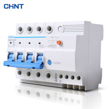 CHNT 4P 32A Miniature Circuit Breaker Household Type C Air Switch Moulded Case Circuit Breaker original miniature circuit breaker idpna vigi c16a 4 5 6ka