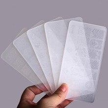 1pcs Nail Stamping Plates Plastic BC Lace Art DIY Image Templates Manicure Tools (SBC01-10)