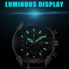 2018  Leather Quartz Watch LIGE9869