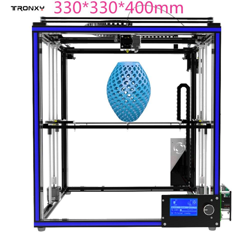 Tronxy X5S imprimante 3D haute précision cadre métallique Structure kit de bricolage 330*330*400mm (autre Select n'a pas de produit!)