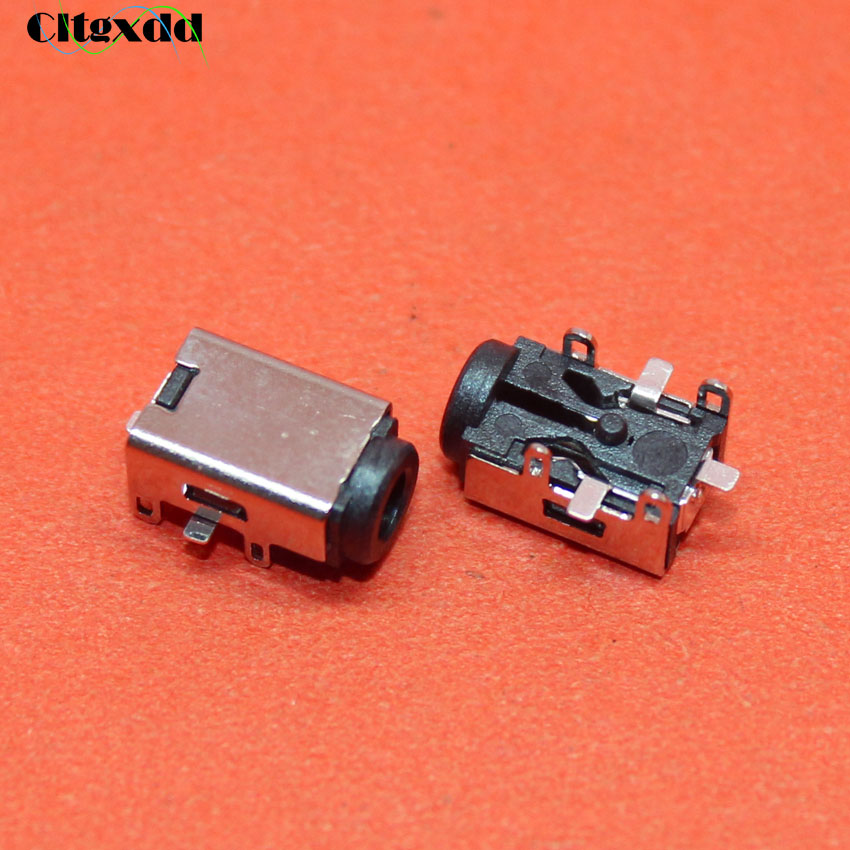 Cltgxdd 1PCS DC Power Jack Connector For ASUS EEEPC EEE PC 1104 1106 1001 1002 1003 1004 1005 1008 1101 1201 1215 1015P 1018PB