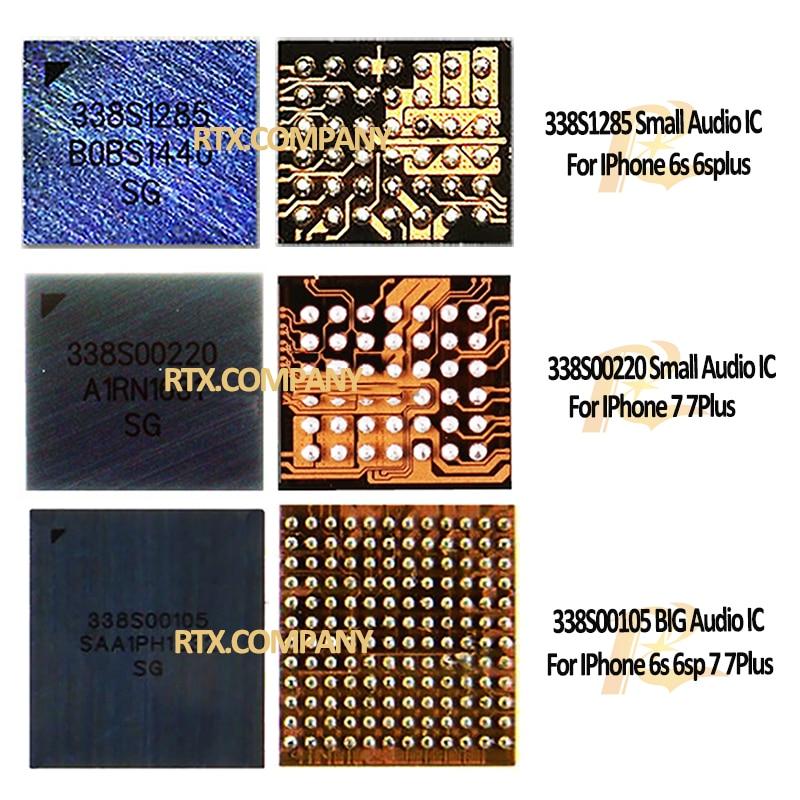 338S1285 338S00105 338S00220 For IPhone 6s 6splus 6sp 7 7plus 7p Audio IC Sound Control Chip Small & Big U3500 U3700 U3402 U3502