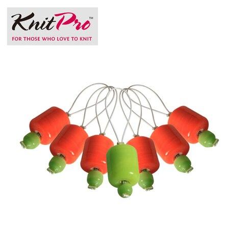 Marcadores de Ponto de Tricô 7 Peças Knitpro Locking Ponto Talão Marcador Diy Ofício Tecer Ferramentas Crochet Knitting Ferramenta