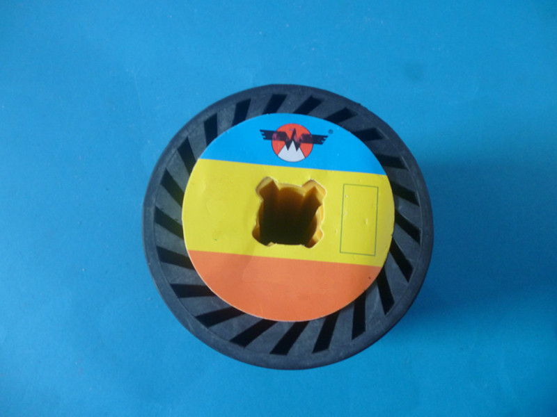 90*100mm Elasticity Roller Rubber Wheel For Drawing Machine Polishing Machine Accessary Part Rubber Drum Wheel/ 100X280mm