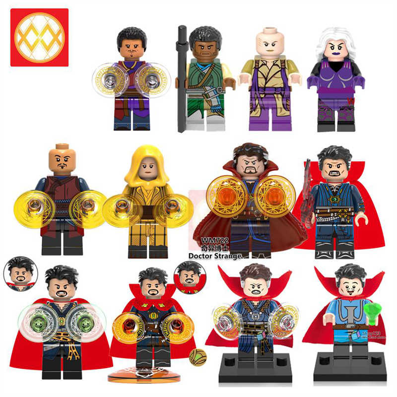 WM722 Doctor Strange Ancient One Wong Weapon Marvel Super Heroes Building Blocks Toys Children s Endgame Infinity War