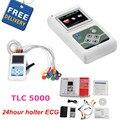 CONTEC производитель доставка 12 каналов 24 часа TLC5000 ручной ECG/EKG Holter система мониторинга рекордер CE FDA