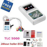 CONTEC Manufacturer shipping 12 Channels 24 Hours TLC5000 Hand held ECG/EKG Holter Monitoring Recorder System CE FDA Certified