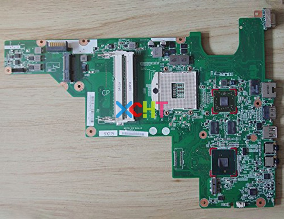 XCHT for HP CQ43 CQ57 Series 646179-001 HM65 HD6470/512M Laptop Motherboard Mainboard Tested & Working PerfectXCHT for HP CQ43 CQ57 Series 646179-001 HM65 HD6470/512M Laptop Motherboard Mainboard Tested & Working Perfect