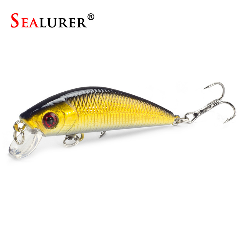 Floating Minnow Fishing Lure 7CM 8.5G 6# Hook Fly Pesca Wobbler Hard Bait Dive 0.5-1.5m Carp Crankbait Artificial Japan Swimbait sealurer big tongue minnow fishing lure float wobbler 16cm 27 5g sea fly pesca hard bait crankbait tackle 1pcs lot