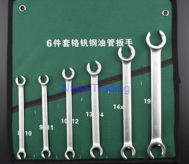 US $3 5 |diesel oil tube wrench spanner for oil pipe open ended wrench,  common rail repair tool kit-in Mechanical Testers from Automobiles &