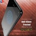 Para iphone7 vidrio protector de pantalla 3D full cobertura iphone7 plus CHYI Marca 9 H dureza vidrio templado esmerilado anti-las huellas dactilares