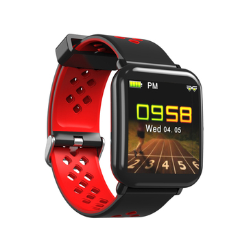 DM06 Sports Smart Band Heart Rate Monitor Waterproof Smartband Colors Display Fitness Tracker for Man Woman Watches for Mi Phone