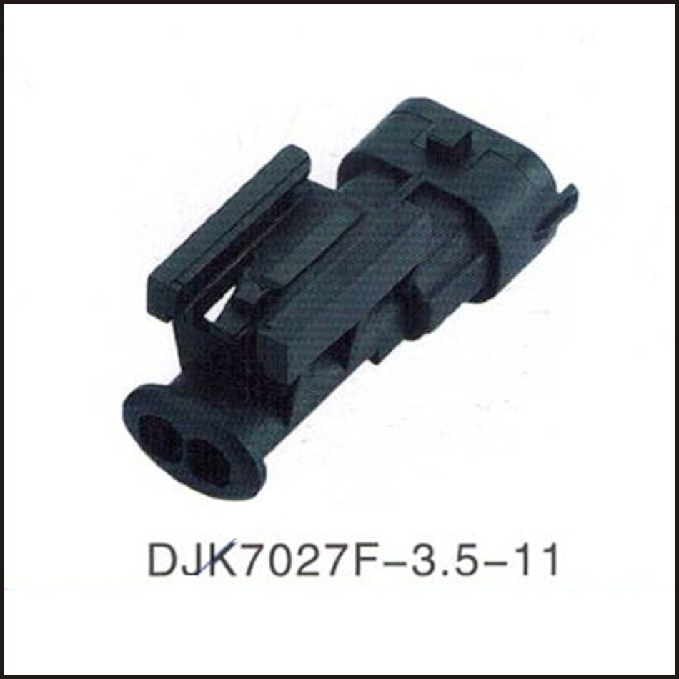 Amp Tyco Wire Male Connector Black Female Cable Terminal 50pcs 2pins Printed Circuit Board Block Screw Terminals Us 2 Pin Plugs Sockets Seal Djk7027f 35 11