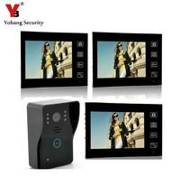 Yobang Security 7inch Wireless Video Door Phone Intercom Doorbell Wireless Video Intercom IR Camera Monitor 150M
