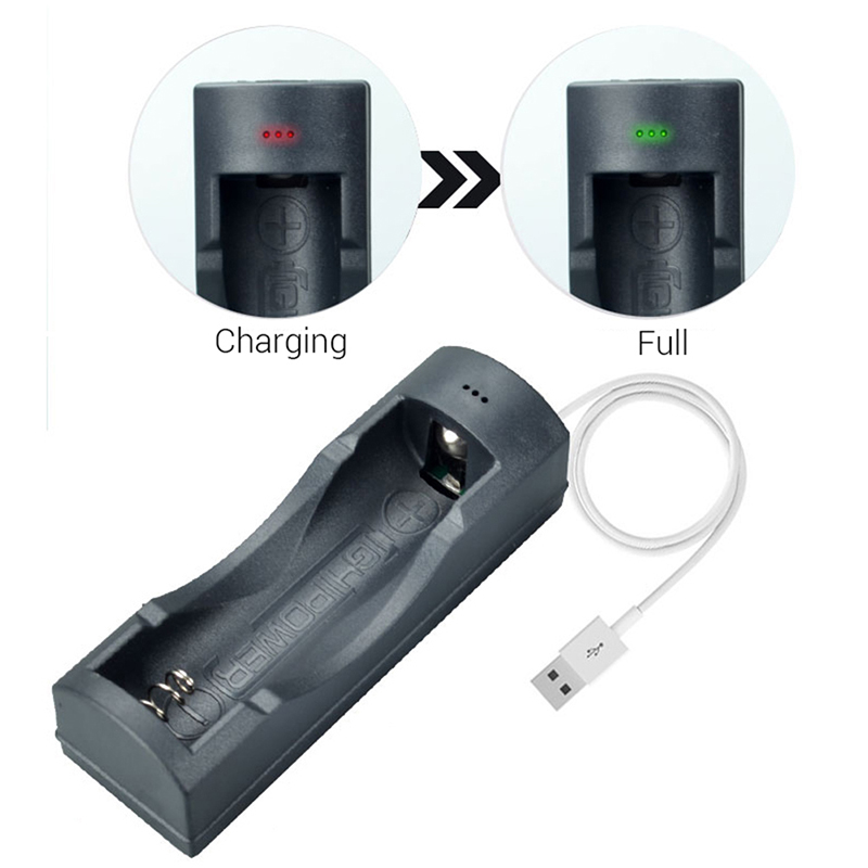 USB Batteries Charger Protection IC Universal Battery Charger For 18650 Li-ion (no battery) free shipping(China)