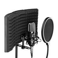 Studio Microphone Isolation Shield Sound Absorber Recording Foam Panel Dropshipping