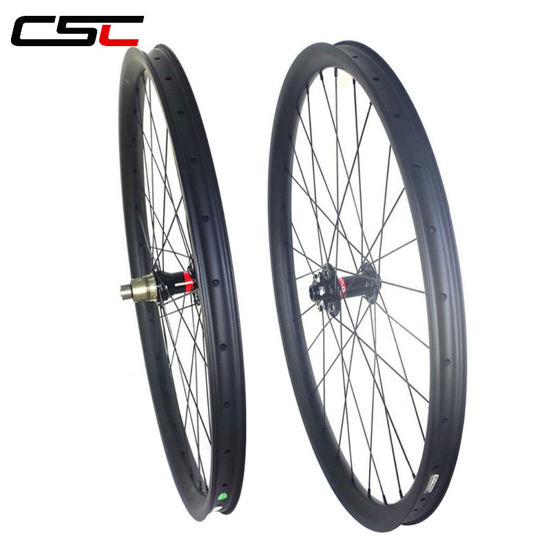 27.5inch Boost Tubeless Mountain bike carbon wheels 27.5er MTB carbon bicycle wheelset 15x110mm 12x148mm