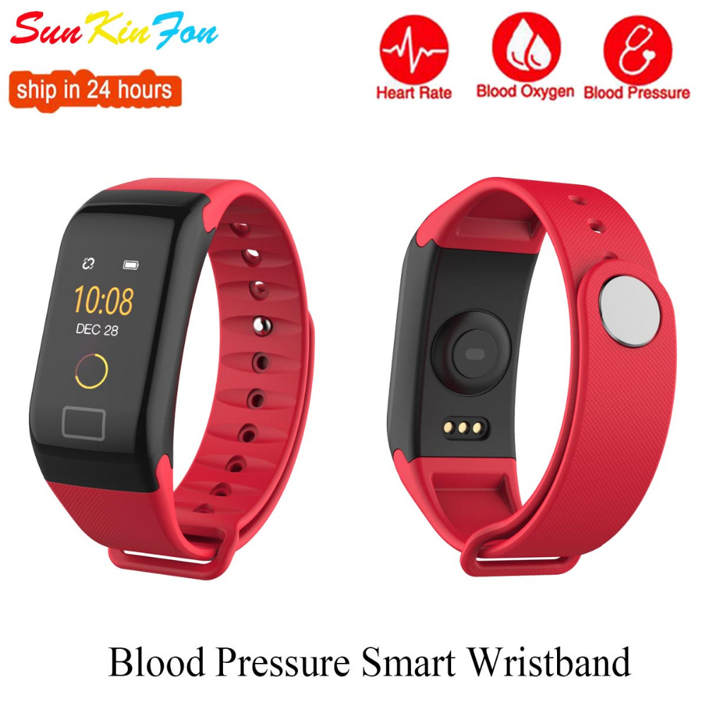 For Huawei Mate 10 Pro S 9 8e 7 8 Plus 7S Sports Smart Wristband Blood Pressure Heart Rate Fitness Tracker Smart Bracelet Band