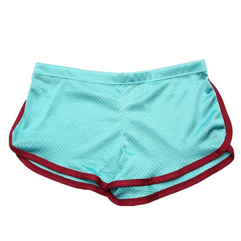 Boxer-Shorts Pants Low-Waist Breathable Men's Casual Summer Bodybuilding Baggy