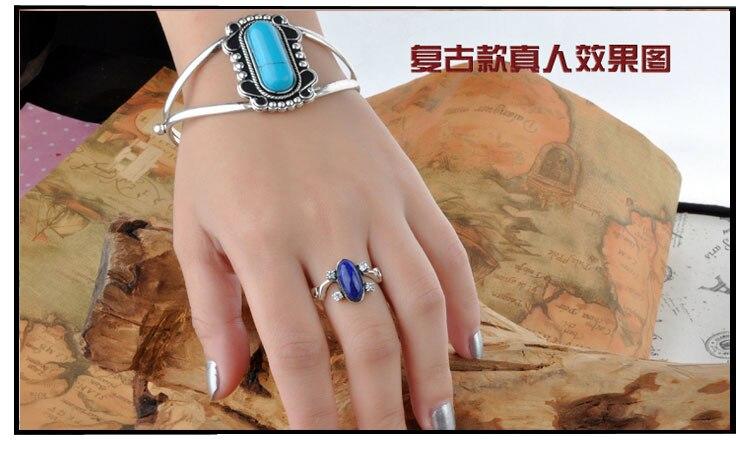 Le Vampire Diaries Elena Anti soleil antique 925 en argent Sterling anneau cadeau pour les Fans film bijoux anneaux livraison directe Cool - 6