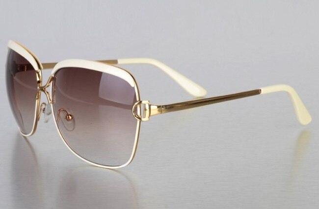 Солнцезащитные очки для женщин, oculos de sol feminino женские солнцезащитные очки Брендовые женские солнечные очки - Цвет линз: Бежевый