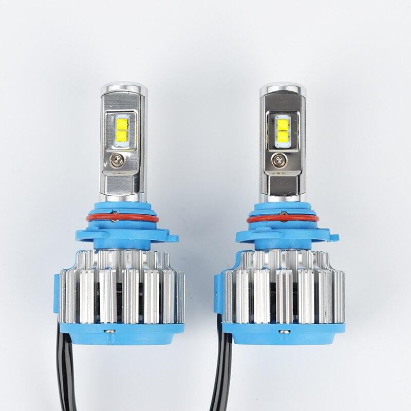 LDDCZENGHUITEC Led Car Headlight 9004 9007 HB5 H4 Hi/Lo ADOB Beam Turbo Led Auto Headlight Bulbs Xenon 6000K White Lighting Bulb