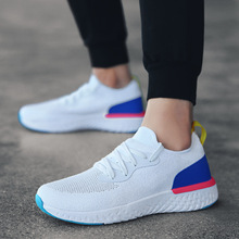 2019 Summer New Hot Sale Fashion Mens Sneakers Breathable Odyssey React Flyknit Running Shoes Comfortable Adult Walking