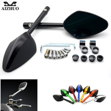 For DUCATI 748/750SS 900SS/1000SS 996/998/B/S/R GT 1000 M900/M1000 MS4/MS4R MTS1000SDS/DS Motorbike Side Mirrors Rearview Mirror