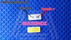 Image 1 - Für LG LED TV Anwendung LED LCD TV Hintergrundbeleuchtung 1W 7030 6V Cool white High Power LED LED hintergrundbeleuchtung