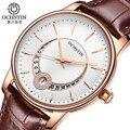 Marca ochstin mulheres moda relógios de quartzo-relógio das mulheres senhoras vestido assista negócios relógio de pulso relojes mujer montre femme