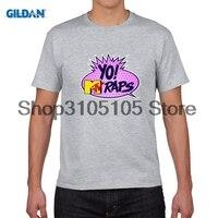 GILDAN designer t shirt Yo MTV Raps T shirt Man Leisure Summer Print Male Tops Round Neck Short Sleeve Top Designer T-shirt