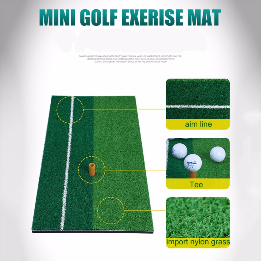 Backyard font b Golf b font Mat Residential Training Hitting Mats Pad Green Grass font b