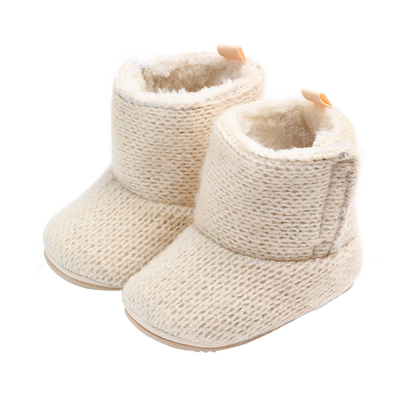 e453abbff7f0d 2019 Baby Girls Shoes Winter Infants Warm Shoes Cotton Baby Girl Booties  Solid Cute Baby Boots