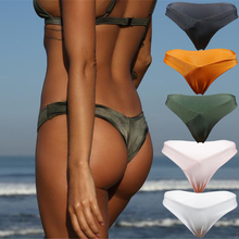 Free Shipping Hot Sexy Women Swimsuit High Waisted Halter Push Up