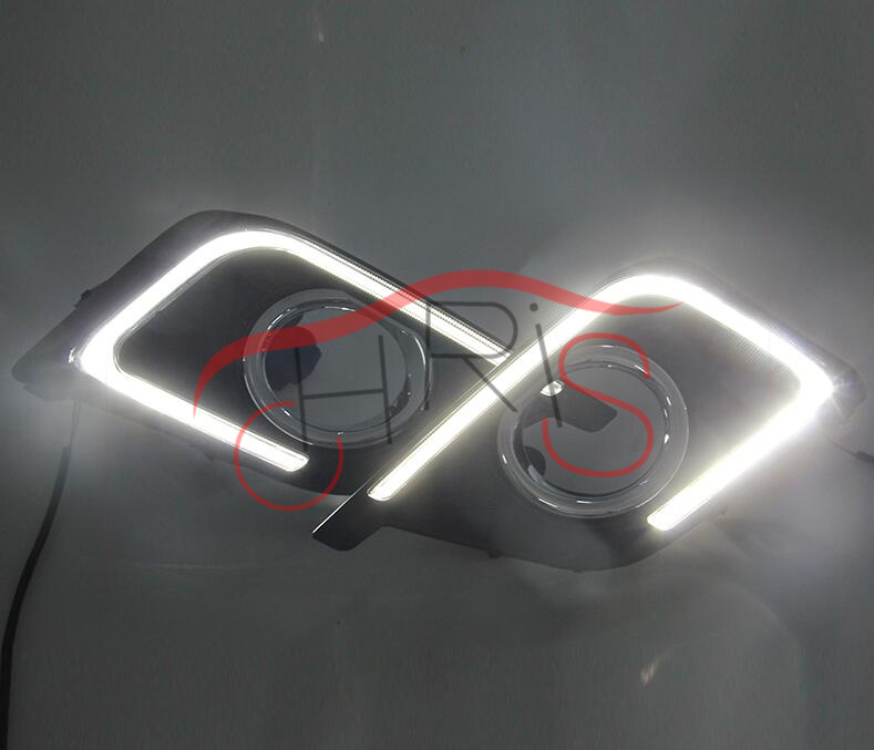 ФОТО LED Daytime Running Light For Nlssan Sylphy 2015- 2016 DRL