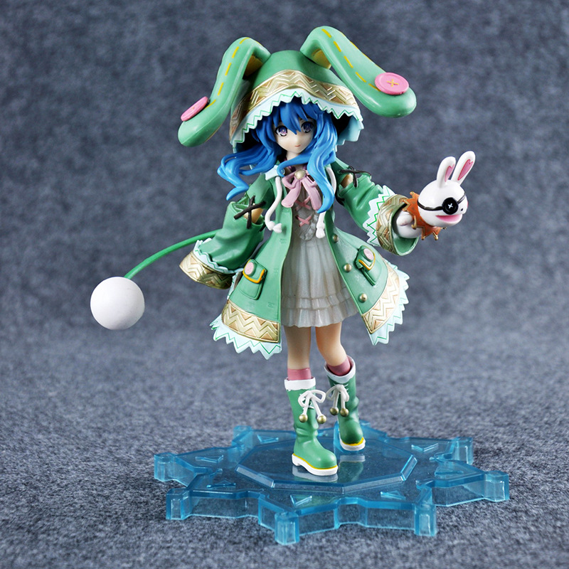2017 Sell Like Hot Cakes 20CM PVC DATE A LIVE Hermit Yoshino Action Figure Car Furnishing Articles Model Holiday Gifts Ornament dating war date a live yoshino hermit pvc action figure model toy retail