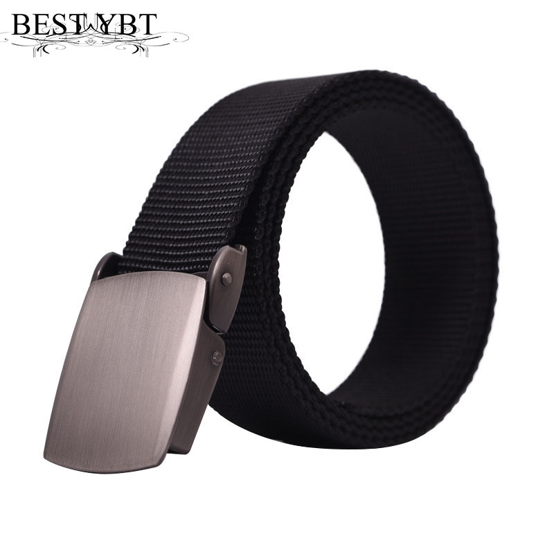 Apparel Accessories Best Ybt U.s Unisex Canvas Belt Green Alloy Buckle Military Belt Army Tactical Belts For Unisex Top Quality Men Strap For Jeans